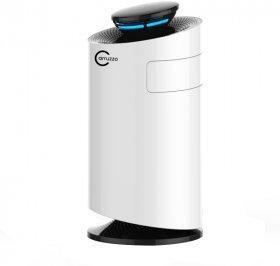 Oczyszczacz powietrza Carruzzo Q34, z lampą UV na owady, biały