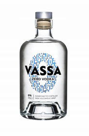 Wódka bezalkoholowa Vassa Zero Vodka, butelka szklana, 0.7l
