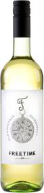 Wino bezalkoholowe słodkie Freetime Chardonnady, 0.75l, białe