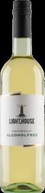 Wino bezalkoholowe półsłodkie Light House White, 750ml, białe 0,75l