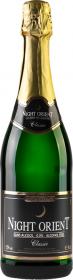 Wino/szampan bezalkoholowe wytrawne Night Orient Classic, musujące, 0.75l białe