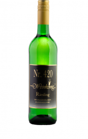 Wino bezalkoholowe wytrawne Weinkönig Riesling 420, 0.75l, białe
