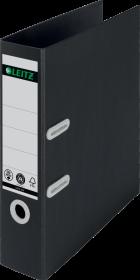 Segregator 180° Leitz Recycle, A4, szerokość grzbietu 80mm, do 600 kartek, czarny