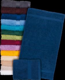 Ręcznik Reis T-soft, bawełna frotte, 50x90cm, 500g/m2, granatowy