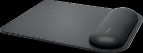 Podkładka pod mysz i nadgarstek Kensington, ErgoSoft, do standardowych myszy, 240x195x21mm, czarny