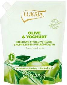 Mydło w płynie Luksja Olive, oliwkowy, zapas, 900ml (c)