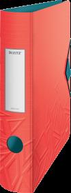 Segregator Leitz 180° Active Urban Chic, A4, szerokość grzbietu 65 mm, do 350 kartek, czerwony
