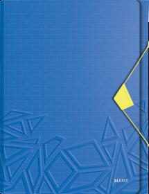 Teczka segregująca Leitz Urban Chic, A4, 6 przegródek, niebieski