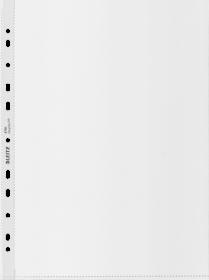 Koszulki groszkowe Leitz Recycle, A4, 100µm, 100 sztuk, transparentny