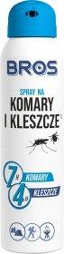 Spray na komary i kleszcze Bros, 90ml