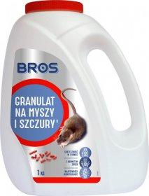 Granulat na myszy i szczury Bros, 1kg