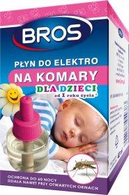 Płyn do urządzenia elektro na komary dla dzieci Bros, 40ml