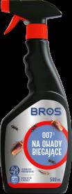 Płyn na owady biegające Bros 007, z rozpylaczem, 500ml