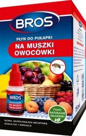 Płyn do pułapki na muszki owocówki Bros, 15ml