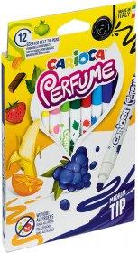 Pisaki zapachowe Carioca Xplosion, 12 sztuk, mix kolorów