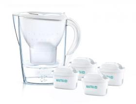 Dzbanek filtrujący Brita Marella XL, 3.5l, biały + 4 wkłady Maxtra+