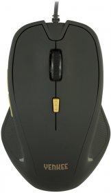 Mysz przewodowa Yenkee YMS 1010BK Dakar, optyczna, czarny
