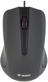 Mysz przewodowa Yenkee USB Suva, optyczna, czarny