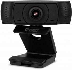 Kamera internetowa Yenkee YWC 100 Ahoy, Full HD USB, czarny