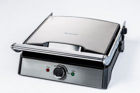 Grill elektryczny Ravanson GE-7050, 2000W, srebrno-czarny