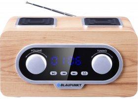 Przenośne radio Blaupunkt PP5.2CR,  FM PLL SD/USB/AUX, zegar, akumulator