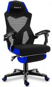 Fotel gamingowy Huzaro Combat 3.0 Blue, czarno-niebieski