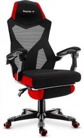 Fotel gamingowy Huzaro Combat 3.0 Red, czarno-czerwony