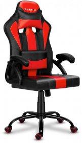 Fotel gamingowy Huzaro Force 3.0 Red, czarno-czerwony
