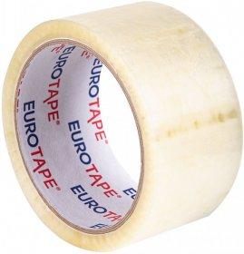 Taśma pakowa Dalpo Euro-tape, 72mmx66m, przezroczysty