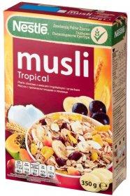 Musli Nestle Tropical, tropikalne, 350g