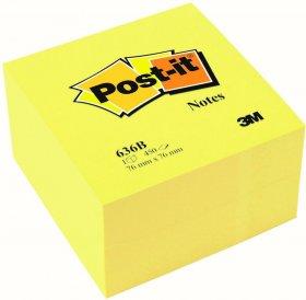 Notes samoprzylepny Post-it, 76x76 mm, 450 karteczek, żółty