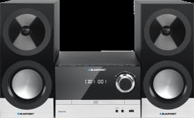 Mikrowieża Blaupunkt MS40BT, z Bluetooth, USB i odtwarzaczem CD, czarny