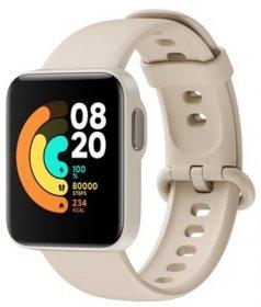Smartwatch Xiaomi Mi Watch Lite, z językiem polskim,  Ivory (28820)- kość słoniowa