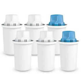 Zestaw 6 wkładów filtrujących Dafi- 4x Standard Classic +2x Mg+
