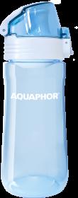 Bidon/butelka na wodę Aquaphor tritan, 0.55l, niebieski