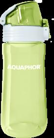 Bidon/butelka na wodę Aquaphor tritan, 0.55l, limonkowy