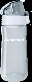 Bidon/butelka na wodę Aquaphor tritan, 0.55l, szary