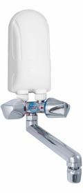 Ogrzewacz wody Dafi, elektryczny, z chromowaną baterią, 3.7kW, 230V