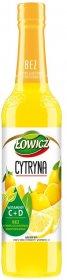Syrop Łowicz, cytrynowy, 400ml