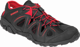 Sandały robocze Bennon Yukon, rozmiar 44, czarno- czerwony