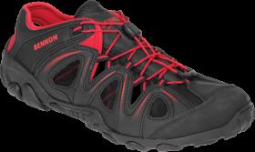 Sandały robocze Bennon Yukon, rozmiar 45, czarno- czerwony