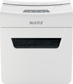 Niszczarka Leitz IQ Protect Premium 6X, konfetti, 6 kartek, P-4 DIN, biały