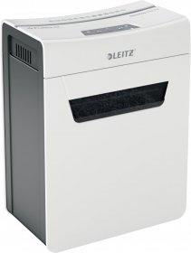 Niszczarka Leitz IQ Protect Premium 8X, 8 kartek, P-4 DIN, biały