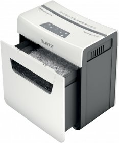 Niszczarka Leitz IQ Protect Premium 3M, mikrościnek, 3 kartki, P-5 DIN, biały