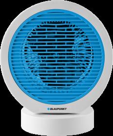 Termowentylator Blaupunkt FHM401, 15.5cm, do  22m2, biało-niebieski