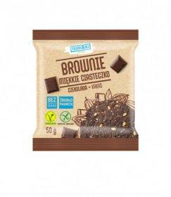 Miękkie ciasteczko Frank&Oli, brownie, bez cukru, 50g