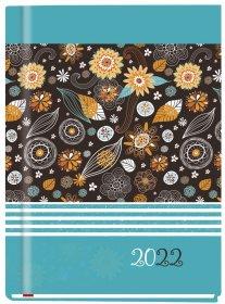 Kalendarz książkowy MiP 2022, Marta T-215F-01, B6, tygodniowy, 72 kartki