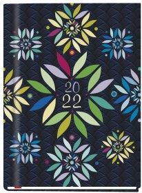 Kalendarz książkowy MiP 2022, Marta T-215F-02, B6, tygodniowy, 72 kartki