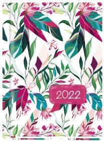 Kalendarz książkowy MiP 2022, Ola T-212F-02, A6, tygodniowy, 72 kartki