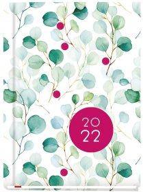 Kalendarz książkowy MiP 2022, Ola T-212F-03, A6, tygodniowy, 72 kartki